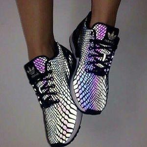 Adidas Chameleon Reflective Sneakers